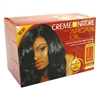 Creme Of Nature Argan Oil Advanced Straightening (Reg) (98337)<br><br><br>Case Pack Info: 12 Units