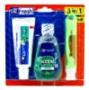 "Dr. Fresh Travel Kit 3-In-1 Toothpaste/Scope/Toothbrush (98545)<br><br><span style=""color:#FF0101""><b>12 or More=Unit Price $2.57</b></span style><br>Case Pack Info: 48 Units"