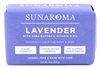Sunaroma Soap Bar Lavender With Shea + Vitamin E Oil 8oz (99253)<br><br><br>Case Pack Info: 36 Units