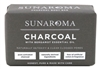 Sunaroma Soap Bar Charcoal With Bergamot Oil 8oz (99254)<br><br><br>Case Pack Info: 36 Units