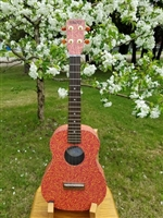 Hotrod Red Tenor laminate ukulele