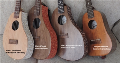 Concert wood/laminate ukulele