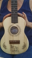 Tenor wood ukulele