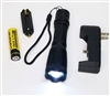 1200Lm CREE XM-L T6 LED Rechargable Tactical Flashlight W/18650 + Battery Charger, AAA Holder