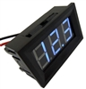 Digital Display Audio Cables DC 0-30V Blue LED Voltage Voltmeter | WiredCo