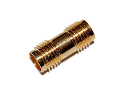 SMA Female/Female Coupler Adapter Gold Pins for Amateur Ham Radio | WiredCo