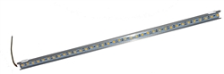 "LED Strip SMT 3000K Warm White Low Profile 12VDC Light Fixture 20"" 6W"