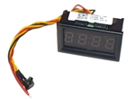 Digital Display Clock Nixie color LED  in dash Car HamRadio Go Kit, RV