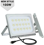 White LED Waterproof Outdoor Lighting - IP65, 100w, 120VAC | WiredCo