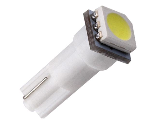 Dash lights, T5 Wedge socket, cool white LED