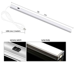 USB Thin Dimmable Touch Sensor 21 LED Fixture