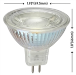 6 Watt MR16 LED G4 Bi-Pin