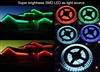 Flexible Color Changing RGB Ribbon LED Strip 12VDC 16.4Ft | WiredCo