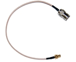 "6"" UHF SO239 Female SO-239 Jack to SMA Female Plug Pigtail Jumper Cable RG316 for Ham Radio 