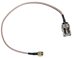SMA Female Jack female SO-239 UHF RG316 50 ohm RG316 Coax Cable for Ham Radio | WiredCo