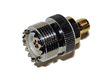 SMA Female Jack to UHF SO-239 Female Jack Ham Radio Adapter | WiredCo