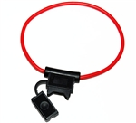 Standard Wedge Inline ATC Fuse Holder. 12 Gauge Wire for Ham Radio | WiredCo