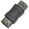 USB A Female to A Female Gender Changing Adapter Coupler | WiredCo