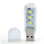 LED Mini Portable Light USB Plug