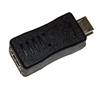 USB Micro Male to Mini 5 pin USB Female Adapter Converter