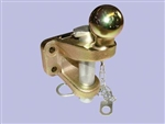 Ball, Jaw & Pin - 4 Bolt Mounted (Ball 3.5 Ton, Jaw 5 Ton)