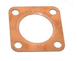 Genuine Copper Exhaust Gasket for Land Rover Series 2A & 3 - Square Gasket