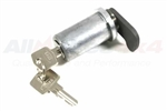Barrel and Key for Land Rover Series 2A & 3 Door Lock (For Early Door Lock - 345435 & 345436)