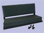 Rear Bench Seat In Vinyl Twill - for Defender and Series Land Rover