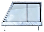 GLAZED Galvanised Series 2 Door Top Right Hand