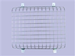 Genuine Front Zinc coated Lamp Guards - Mesh Style - For Defender and Series - Comes as Single Lamp Guard