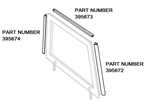 3 Piece Seal Kit Right Or Left Hand For Series Door Top (Kit For 1 Door Top)