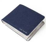 Nylon Wallet in Navy and Grey - For Land Rover, Genuine Land Rover Gear