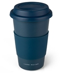 Ceramic Travel Mug in Matt Grey - Double Walled For Land Rover