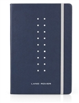 Land Rover A5 Notebook in Navy - For Genuine Land Rover Gear