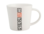 Icon Mug - White with Terrain Response Logos For Land Rover