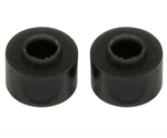 Steering Damper Poly Bush in Black - For Defender, Discovery 1, Series Land Rover and Range Rover Classic
