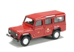 Die-Cast For Land Rover Defender 110 - Royal Mail Post Bus - Scale 1:76