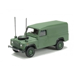Die-Cast For Land Rover Defender 110 - Military - Scale 1:76