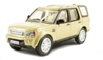 Die-Cast For Land Rover Discovery 4 in Gold - Scale 1:76