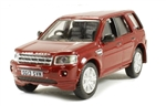Die-Cast For Land Rover Freelander 2 in Red - Scale 1:76