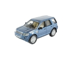 Die-Cast For Land Rover Freelander 2 in Mauritius Blue - Scale 1:76 Model Car
