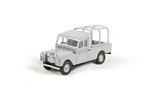 Die-Cast For Land Rover Series 1 Truck Cab in Grey - Scale 1:76
