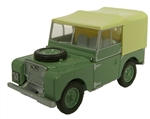 Die-Cast For Land Rover Series 1 - 80in in Sage - Scale 1:76