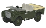 Die-Cast For Land Rover Series 1 - 80in Flat Back in Green - Scale 1:76