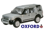 Die-Cast For Land Rover Discovery 3 in Silver - Scale 1:76