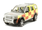 Die-Cast For Land Rover Discovery 3 - Nottinghamshire Fire and Rescue - Scale 1:76