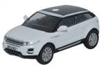 Die-Cast For Range Rover Evoque Mk 1 in White - Scale 1:76 Model Car