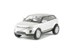 Die-Cast For Range Rover Evoque Mk 1 in Indus Silver - Scale 1:76 Model Car