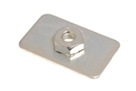 Windscreen to roof captive nut plate Def 83-16
