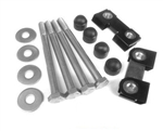Def Stainless Steel front Bumper Bolt Kit With Tapping Blocks